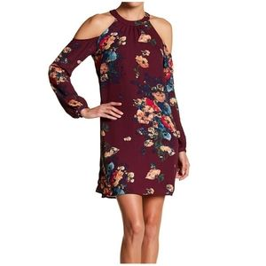 Charles Henry Floral Sheath Dress